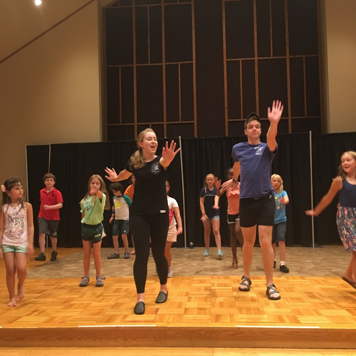 Session 4 Day 5 – Dancing &Devising